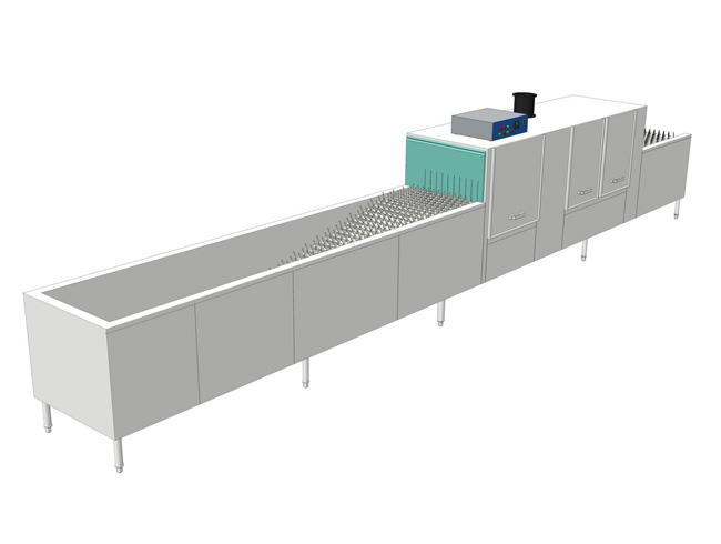 山西HY-S8000型倾倒式全自动洗碗机